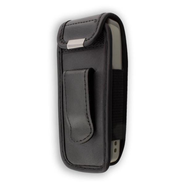 caseroxx Ledertasche mit Gürtelclip für Nokia 1110 / 1110i / 1112 aus Echtleder, Handyhülle für Gürt