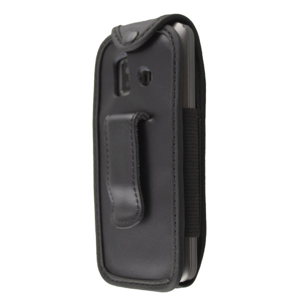 caseroxx Leather-Case with belt clip for Emporia Essential / Prime made of genuine leather, mobile phone cover in black