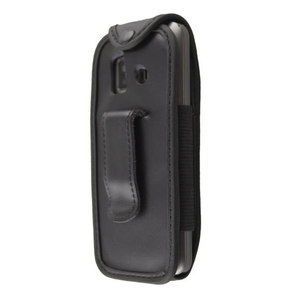 caseroxx Ledertasche mit Gürtelclip für Emporia Essential / Prime aus Echtleder, Handyhülle für Gürt