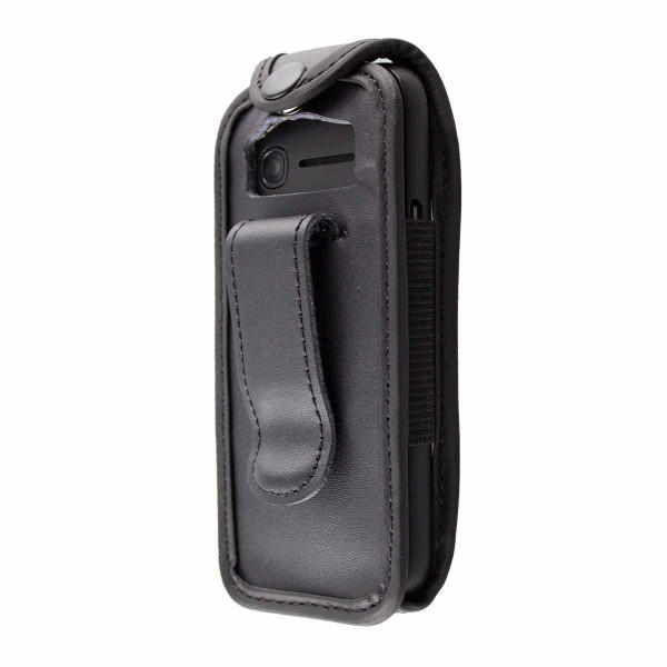 caseroxx Ledertasche mit Gürtelclip für Alcatel OneTouch 1052G aus Echtleder, Handyhülle für Gürtel