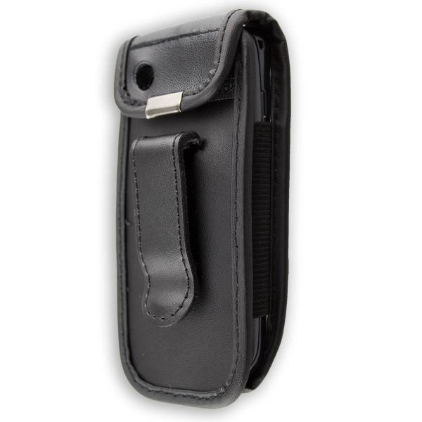 caseroxx Ledertasche mit Gürtelclip für Nokia Asha 300 aus Echtleder, Handyhülle für Gürtel (mit Sic